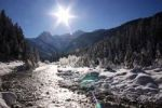 Thumbnail Winter landscape, upper Isar river, Bavaria, Germany, Europe