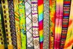 Thumbnail Fabrics, colourful patterns