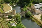 Thumbnail Stierchen-Bruecke bridge across Alzette River, Luxembourg, Europe