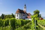Thumbnail Birnau Monastery Church in summer on Lake Constance, Baden-Wuerttemberg, Germany, Europe, PublicGround