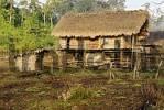 Thumbnail traditional Rawang house, Kachin State, Myanmar