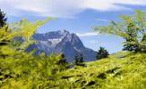 Thumbnail Zugspitze mountain and Jubilaeumsgrat ridge, Garmisch-Partenkirchen, Werdenfelser Land region, Upper Bavaria, Bavaria, Germany, Europe