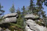 Thumbnail Weissmainfelsen rock formation, Ochsenkopf mountain, Fichtelgebirge mountain range, Upper Franconia, Franconia, Bavaria, Germany, Europe, PublicGround