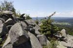 Thumbnail Granite rock formation, Koesseine massif, Fichtelgebirge mountain range, Upper Franconia, Franconia, Bavaria, Germany, Europe, PublicGround
