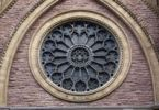 Thumbnail Rose window, St. James United Church, Montreal, Quebec, Canada