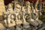 Thumbnail production of marble statues, Mandalay, Myanmar