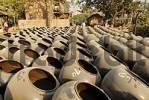 Thumbnail storage place for Martarban pots, Kyauk Myaung, Myanmar