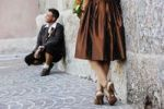 Thumbnail Wedding, bride and groom in traditional dress