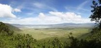 Thumbnail Vantage point, panorama, Ngorongoro Crater, volcano, Ngorongoro Conservation Area, Tanzania, Africa
