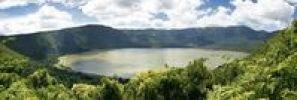 Thumbnail Panorama, Embakai Crater, volcano, Ngorongoro Conservation Area, Tanzania, Africa