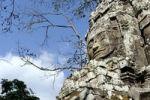 Thumbnail One of the many Buddha faces at the Bayon, Angkor Thom, near Angkor Wat, Siem Reap, Cambodia, Southeast Asia
