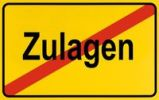 Thumbnail City limits sign with the word Zulagen, German for allowances, symbolic image for the deletion of allowances