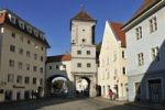 Thumbnail Sandauer Tor, historic town gate, Landsberg am Lech, Upper Bavaria, Germany, Europe, PublicGround