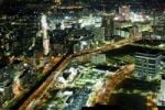 Thumbnail Cityscape, night view, Yokohama, Japan, Asia