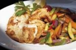 Thumbnail Wok vegetables with redfish fillet