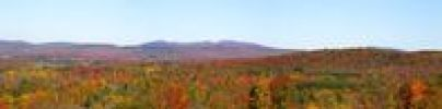 Thumbnail Autumnal panorama, Ville de Lac Brome, Quebec, Canada