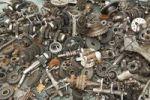 Thumbnail Flea market, scrap iron, metal pieces