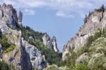 Thumbnail Praying Monk rock formation at Tiesnavy, National Nature Reserve, Mala Fatra National Park, Slovakia, Europe