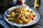 Thumbnail Thai chicken curry with rice