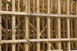 Thumbnail Bridge construction, wooden scaffolding, B207, Heiligenhafen, Baltic Sea, Schleswig-Holstein, Germany, Europe