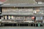 Thumbnail House on stilts on Mae Chao Praya River, Bangkok, Thailand, Asia, PublicGround