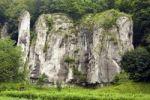 Thumbnail Skaly Kawalerskie stones, Ojcowski National Park, Poland, Europe
