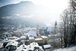 Thumbnail Berchtesgaden and Berchtesgadener Land in winter, Alps, Bavaria, Germany, Europe