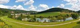 Thumbnail Mittelburg and Vorderburg castles, Neckarsteinach, Vierburgeneck, Neckartal-Odenwald Nature Park, Hesse, Germany, Europe, PublicGround