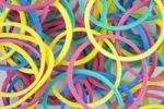 Thumbnail Colourful elastic bands