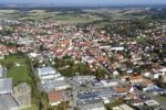 Thumbnail Aerial view of Wolnzach, Pfaffenhofen an der Ilm district, Hallertau hops growing area, Upper Bavaria, Bavaria, Germany, Europe, PublicGround