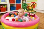 Thumbnail Baby, 1 year, playing