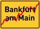 Thumbnail City sign Bankfurt am Main, symbolic image for the banking metropolis Frankfurt am Main, Hesse, Germany, Europe