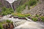 Thumbnail Njupeskar waterfall, Fulufjallet National Park, Dalarna county, Sweden, Scandinavia, Europe