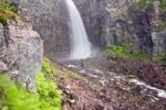 Thumbnail Njupeskaer waterfall, Fulufjaellet National Park, Dalarna county, Sweden, Scandinavia, Europe