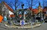 Thumbnail Easterfountain, Ingolstadt, Bavaria, Germany,