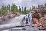 Thumbnail Hyttfossen waterfall on the Gaula river, Norway, Scandinavia, Europe