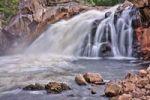 Thumbnail Hyttfossen waterfall on the Gaula river, Norway, Scandinavia, Europe
