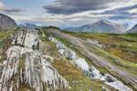 Thumbnail Glacier way in Glomdalen valley, Saltfjellet-Svartisen National Park, Nordland county, Norway, Scandinavia, Europe