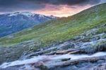 Thumbnail Mountain stream in Blakkådal, Blakkadal valley, Saltfjellet-Svartisen National Park, Nordland county, Norway, Scandinavia, Europe