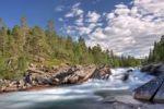 Thumbnail Lønselva, Lonselva river, Nordland county, Norway, Scandinavia, Europe