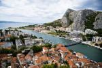 Thumbnail Omis, an old town at the Adriatic coast, Croatia, Europe