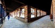 Thumbnail Interior view, reconstructed Saalburg Roman fort, Limes, UNESCO World Heritage Site, Taunus region, Hesse, Germany, Europe