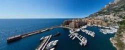 Thumbnail Port Fontvieille harbour, Monaco-Fontvieille, Monte Carlo, principality of Monaco, Cote d'Azur, Mediterranean, Europe, PublicGround