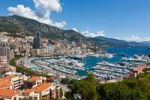 Thumbnail Overlooking the harbour of Monaco, Port Hercule, Monte Carlo, principality of Monaco, Cote d'Azur, Mediterranean, Europe, PublicGround