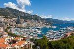 Thumbnail Overlooking the harbour of Monaco, Port Hercule, Monte Carlo, principality of Monaco, Cote d'Azur, Mediterranean, Europe, PublicGround