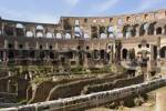 Thumbnail interior view of the Colosseum or Coliseum, Rome Italy Europe