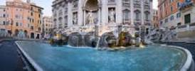 Thumbnail Panorama of the Trevi Fountain, Fontana di Trevi, Rome, Italy
