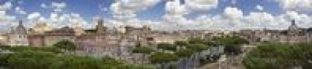 Thumbnail View of Rome from the Capitoline Hill, Rome, Italy, Europe