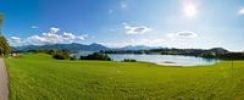 Thumbnail View over Lake Forggensee, Upper Bavaria, Bavaria, Germany, Europe, PublicGround