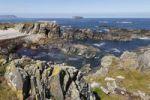 Thumbnail Rocky coast, Isle of Doagh, Inishowen Peninsula, County Donegal, Ireland, British Isles, Europe